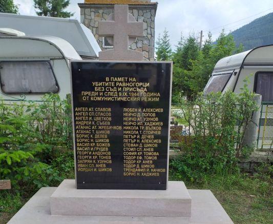 В памет на жертвите на партизанския терор