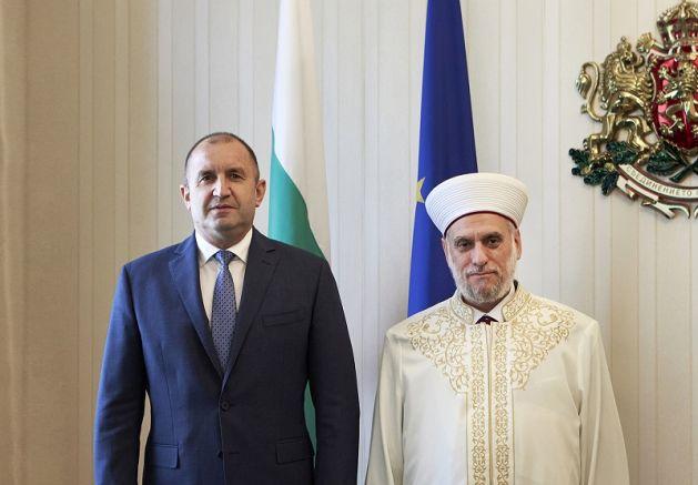 Румен Радев и Мустафа Хаджи