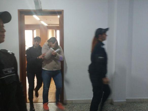 Елена Морева в съда