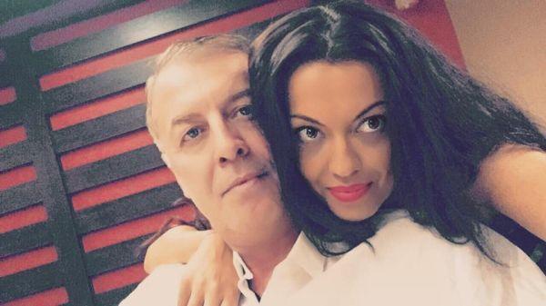Славея Сиракова с баща си Наско Сираков