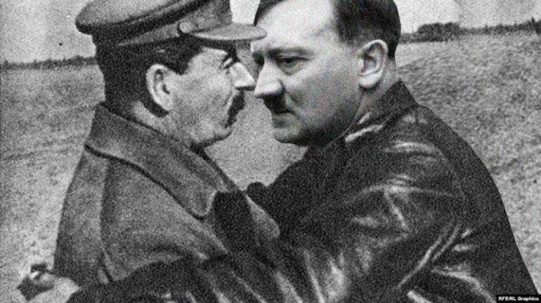 Сталин и Хитлер