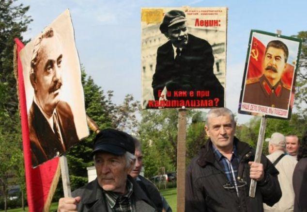 Електоратът на БСП мечтае за Сталин, Ленин и Димитров, снимка:Дарик
