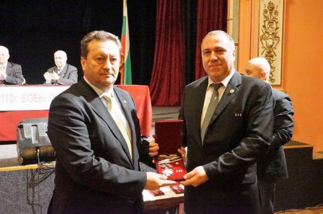 Награждаването на Таско Ерменков