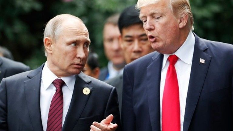 Тръмп и Путин