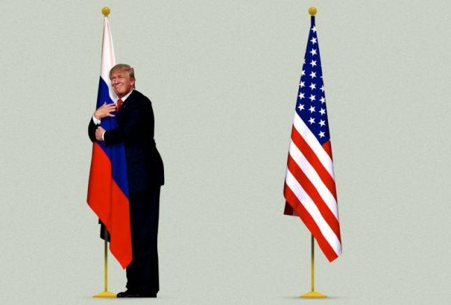 Любовта на Тръмп няма прегради
