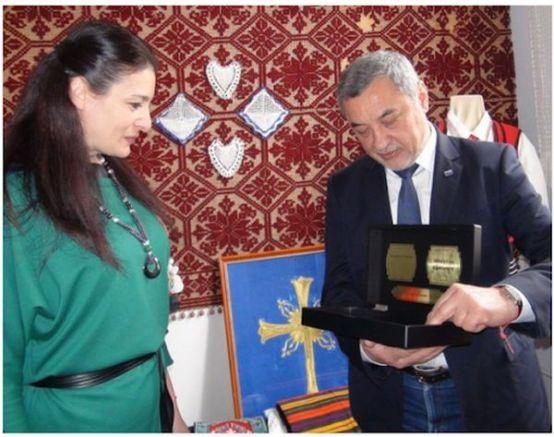 Валери Симеонов на среща с бесарабски българи в Украйна за 3 март