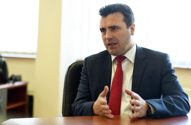 Лидерът на партията Зоран Заев