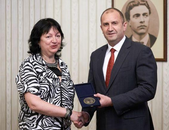 Снежана Тодорова и Румен Радев