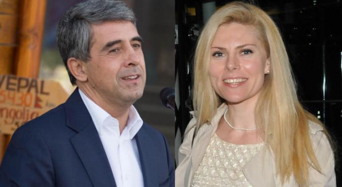 Деси Банова и Росен Плевнелиев