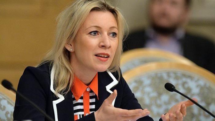 Говорителят на руското Външно министерство Мария Захарова