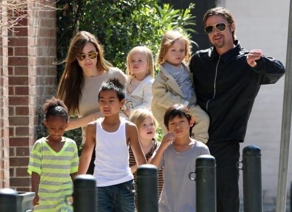 Холивудските звезди, когато бяха още щастливо семейство